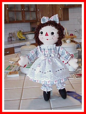 Georgene Raggedy Ann and Andy Dolls