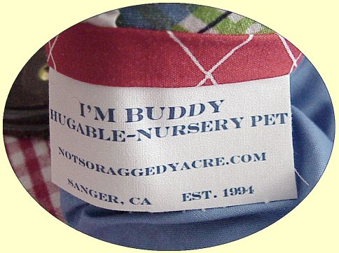 Buddy & Sis Hugable Nursery Pets...Coming Soon!