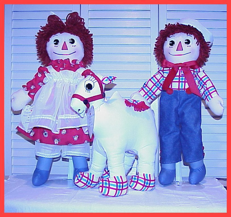 Molly-'Es ~ Raggedy Ann and Andy Dolls
