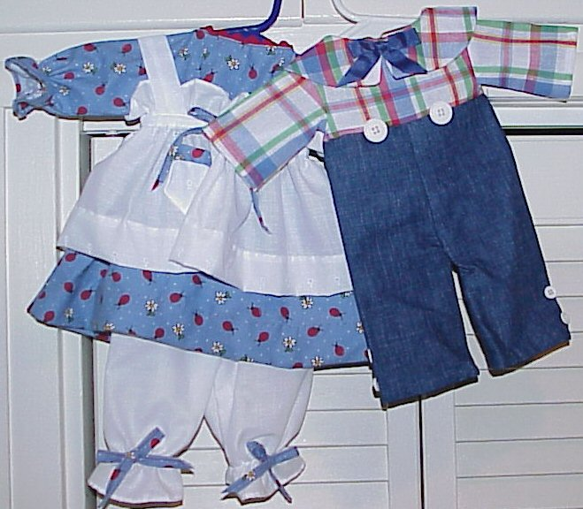 Available Outfit #352a Raggedy Andy Outfit