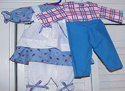 Available Outfit #352b Raggedy Andy Outfit