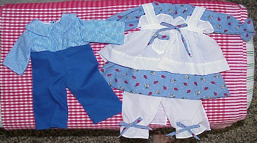 Available Outfit #352c Raggedy Andy Outfit