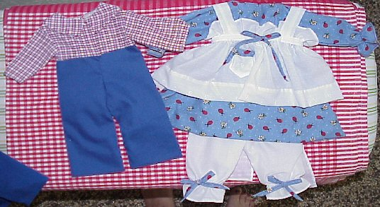 Available Outfit #352d Raggedy Andy Outfit