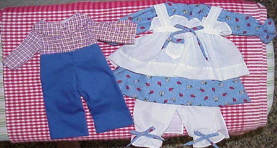 Available Outfit #352f Raggedy Andy Outfit