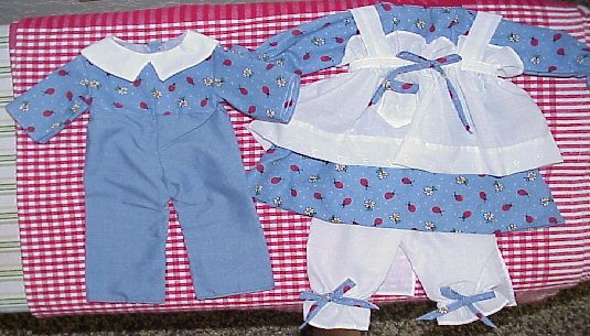 Available Outfit #352g Raggedy Andy Outfit