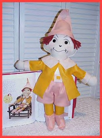 Raggedy Ann In Cookie Land Doll