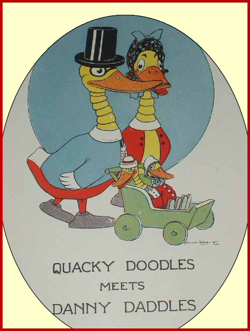 Quacky Doodles & Danny Daddles Family
