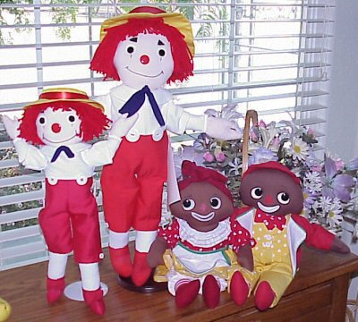 Wooden Willie Dolls